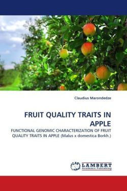 FRUIT QUALITY TRAITS IN APPLE - Marondedze, Claudius