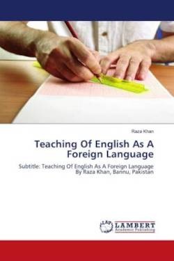 Teaching Of English As A Foreign Language