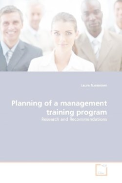 Planning of a management training program - Suominen, Laura