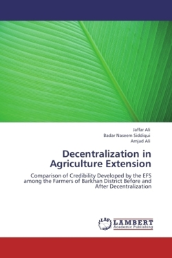 Decentralization in Agriculture Extension
