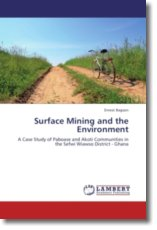 Surface Mining and the Environment - Bagson, Ernest