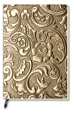 Notizbuch - Blank Book - Metallic Ornament