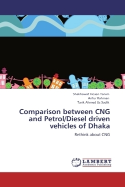 Comparison between CNG and Petrol/Diesel driven vehicles of Dhaka