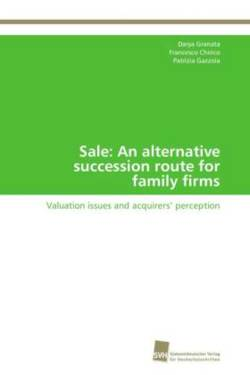 Sale: An alternative succession route for family firms