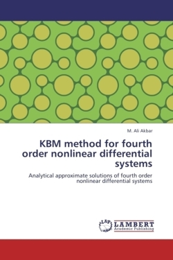 KBM method for fourth order nonlinear differential systems - Akbar, M. Ali