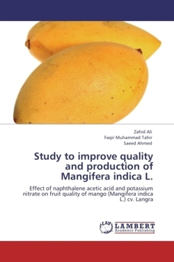 Study to improve quality  and production of  Mangifera indica L. - Ali, Zahid / Muhammad Tahir, Faqir / Ahmed, Saeed