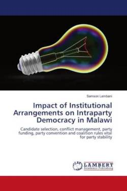 Impact of Institutional Arrangements on Intraparty Democracy in Malawi