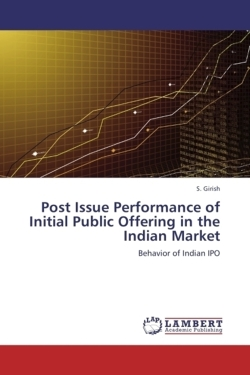 Post Issue Performance of Initial Public Offering in the Indian Market - Girish, S.