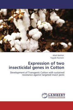 Expression of two insecticidal genes in Cotton - Bakhsh, Allah / Husnain, Tayyab