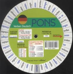 Pons German Series: Pons Drehscheibe Unregelmassiger Verben Pack of 5 (German Edition)