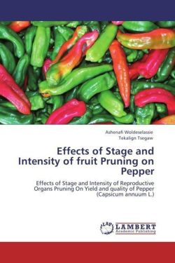 Effects of Stage and Intensity of fruit Pruning on Pepper - Woldeselassie, Ashenafi / Tsegaw, Tekalign