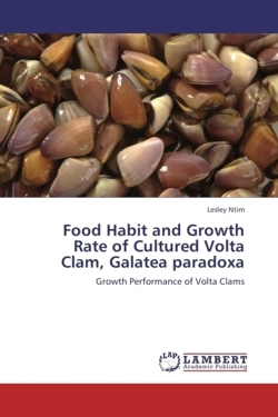 Food Habit and Growth Rate of Cultured Volta Clam, Galatea paradoxa