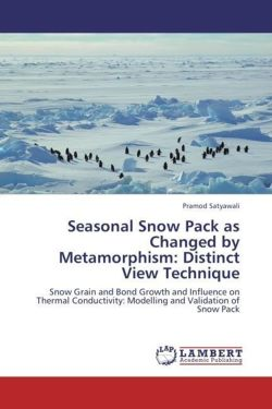 Seasonal Snow Pack as Changed by Metamorphism: Distinct View Technique - Satyawali, Pramod