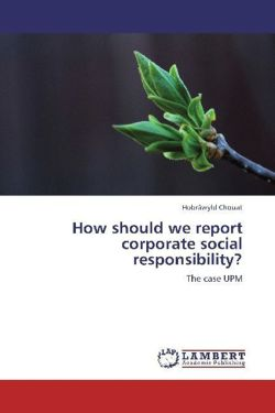 How should we report corporate social responsibility? - Chouat, Hobrâwyld