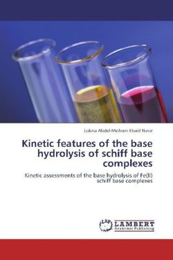 Kinetic features of the base hydrolysis of schiff base complexes