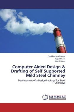 Computer Aided Design & Drafting of Self Supported Mild Steel Chimney