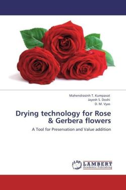 Drying technology for Rose & Gerbera flowers