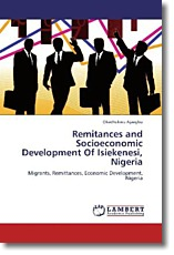 Remitances and Socioeconomic Development Of Isiekenesi, Nigeria - Ajaegbu, Okechukwu
