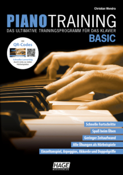 Piano Training Basic (mit CD): Das ultimative Trainingsprogramm für das Klavier
