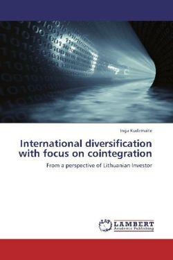 International diversification with focus on cointegration - Kudzmaite, Inga