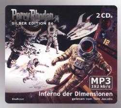 Perry Rhodan Silber Edition - Inferno der Dimensionen, 2 MP3-CDs