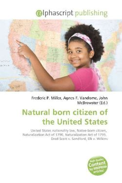 Natural born citizen of the United States