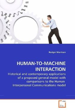 HUMAN-TO-MACHINE INTERACTION - Morrison, Rodger