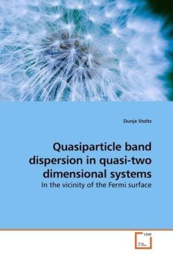 Quasiparticle band dispersion in quasi-two dimensional systems