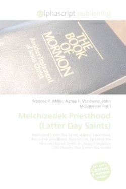 Melchizedek Priesthood (Latter Day Saints)