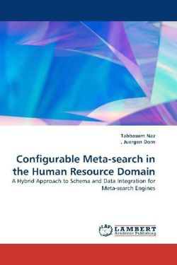 Configurable Meta-search in the Human Resource Domain: A Hybrid Approach to Schema and Data Integration forMeta-search Engines