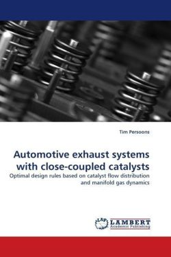 Automotive exhaust systems with close-coupled catalysts: Optimal design rules based on catalyst flow distribution and manifold gas dynamics