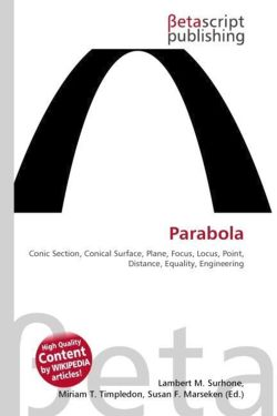Parabola: Conic Section, Conical Surface, Plane, Focus, Locus, Point, Distance, Equality, Engineering