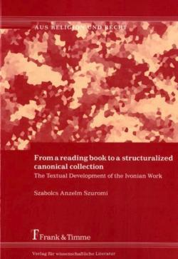 From a reading book to a structuralized canonical collection