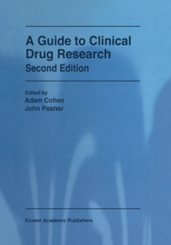A Guide to Clinical Drug Research - Cohen, Adam