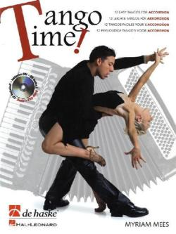 Tango Time!, für Akkordeon, m. Audio-CD