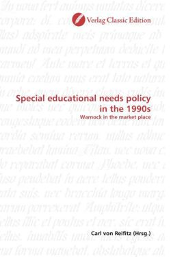 Special educational needs policy in the 1990s - von Reifitz, Carl