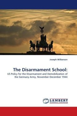 The Disarmament School: - Wilkerson, Joseph