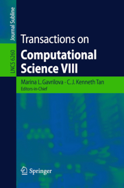 Transactions on Computational Science VIII