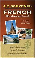 Le souvenir French Phrasebook and Journal
