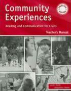 Community Experiences: Reading and Communication for Civics