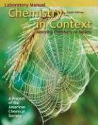 Chemistry in Context: Applying Chemistry to Society: Laboratory Manual