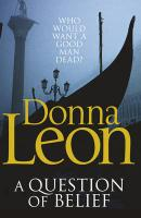 A Question of Belief. Donna Leon
