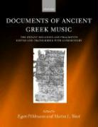Documents of Ancient Greek Music: The Extant Melodies and Fragments