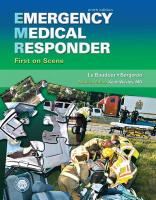 Emergency Medical Responder: First on Scene