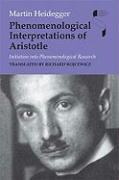 Phenomenological Interpretations of Aristotle: Initiation Into Phenomenological Research
