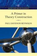 Primer in Theory Construction, an A&b Classics Edition