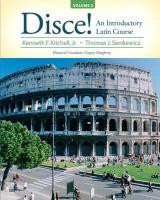 Disce!, Volume 2: An Introductory Latin Course