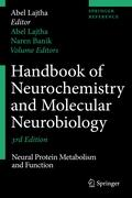 Handbook of Neurochemistry and Molecular Neurobiology: Neural Protein Metabolism and Function