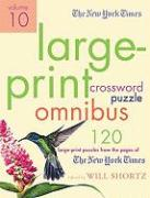 The New York Times Large-Print Crossword Puzzle Omnibus, Volume 10
