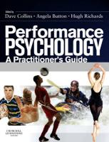 Performance Psychology: A Practitioner's Guide
